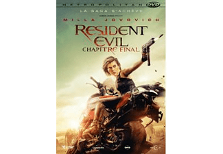 Resident Evil 6: The Final Chapter DVD