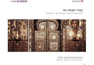Klaudia Zeiner, Falk Hoffmann, MDR Rundfunkchor - All-Night Vigil - (CD)