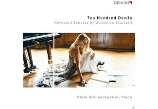 Katia Braunschweiler - Ten Hundred Devils-Keyboard Sonatas - (CD)