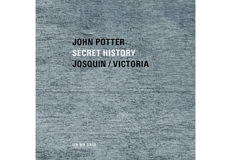 John Potter - Secret History Sacred Music - (CD)