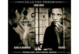 Zaine Griff - ASHES & DIAMONDS/FIGURES - (CD)