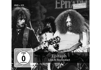 Epitaph - LIVE AT ROCKPALAST - (CD + DVD Video)