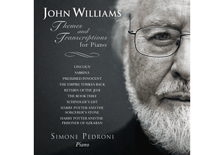Simone Pedroni - THEMES AND TRANSCRIPTIONS FOR PIANO - (CD)