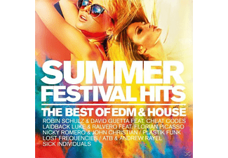 VARIOUS - Summer Festival Hits The Best Of Edm & House - (CD)