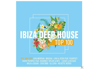 VARIOUS - Ibiza Deephouse Top 100 Vol.1 - (CD)