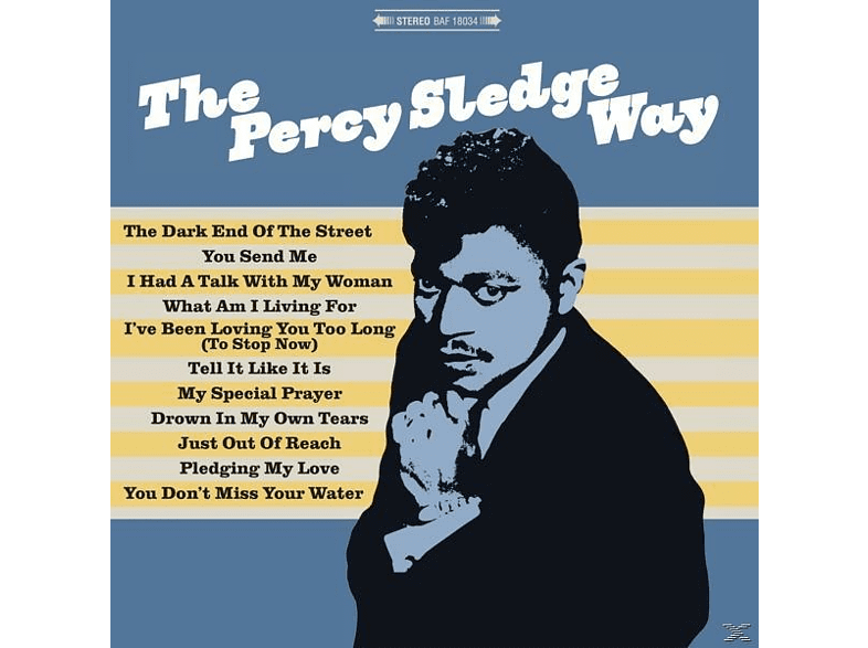 Percy Sledge - The Percy Sledge Way (LP,180gram Vinyl) [Vinyl]