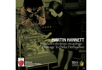 Martin Hannett - Homage To Delia Derbyshire - (CD)