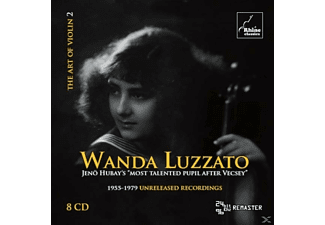 Wanda Luzzato - The Art Of Violin 2 - (CD)