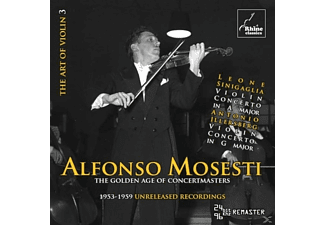 Alfonso Mosesti - The Art Of Violin 3 - (CD)