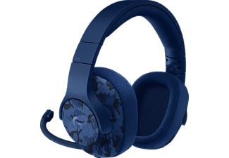 LOGITECH, 981-000688, G433 Surround Gaming, Headset, Blue Camo