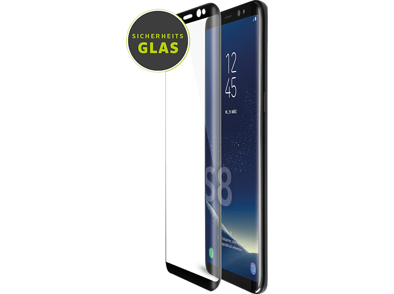 ARTWIZZ Curved Schutzglas (Samsung Galaxy S8)