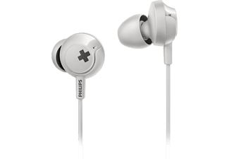 PHILIPS SHE4305WT, In-ear Kopfhörer, Headsetfunktion, Weiß