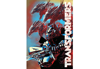 Transformers The Last Knight Poster Dragons