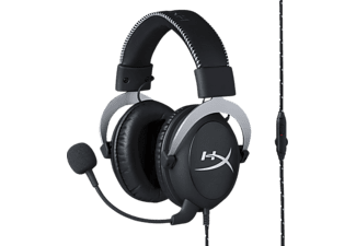 HYPERX Cloud Silver PS4, Gaming Headset, Schwarz/Silber