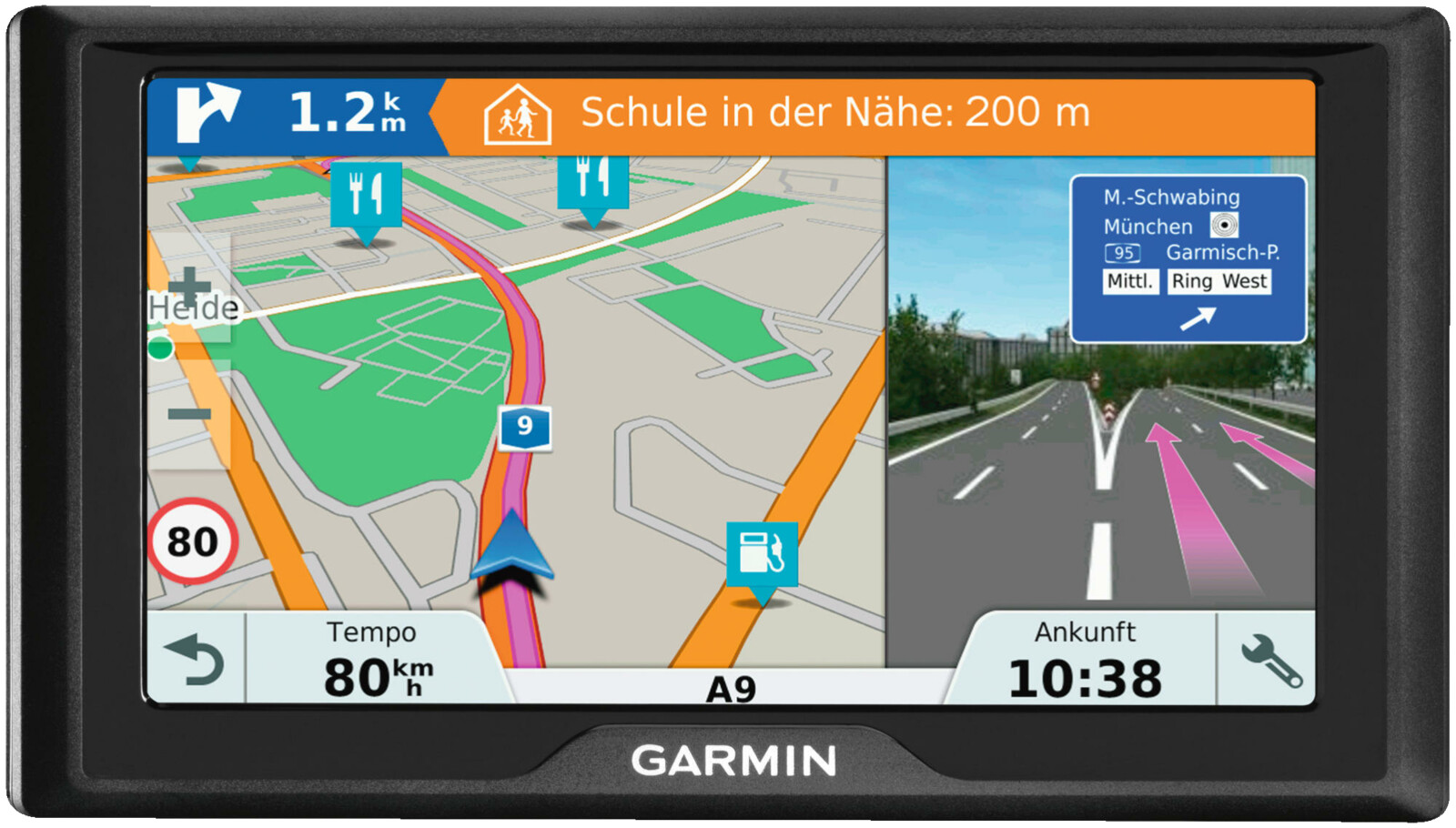 garmin drive 61 lmt s eu pkw navigationsger t 6 zoll. Black Bedroom Furniture Sets. Home Design Ideas