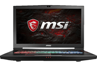 MSI GT73EVR 7RE-838DE Titan, Gaming Notebook mit 17.3 Zoll Display, Core™ i7 Prozessor, 16 GB RAM, 256 GB SSD, 1 TB HDD, GeForce GTX 1070, Schwarz