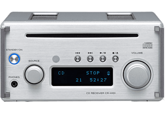 TEAC Stereo versterker CR-H101DAB Bluetooth CD FM DAB Zilver (TE09CH11DS50)