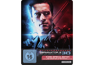 Terminator 2 (3D) -  Steelbook Edition - (Blu-ray)