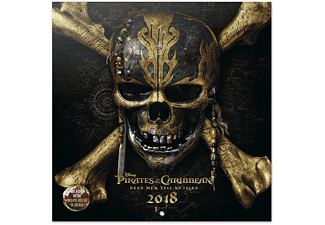 Pirates of the Carribean Disney Film Kalender 2018