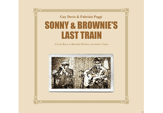 Guy Davis, Fabrizio Poggi - Sonny & Brownies Last Train - (CD)