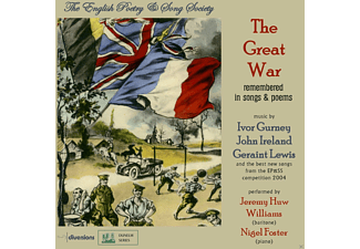 Jeremy Huw Williams, Nigel Foster - The Great War - (CD)