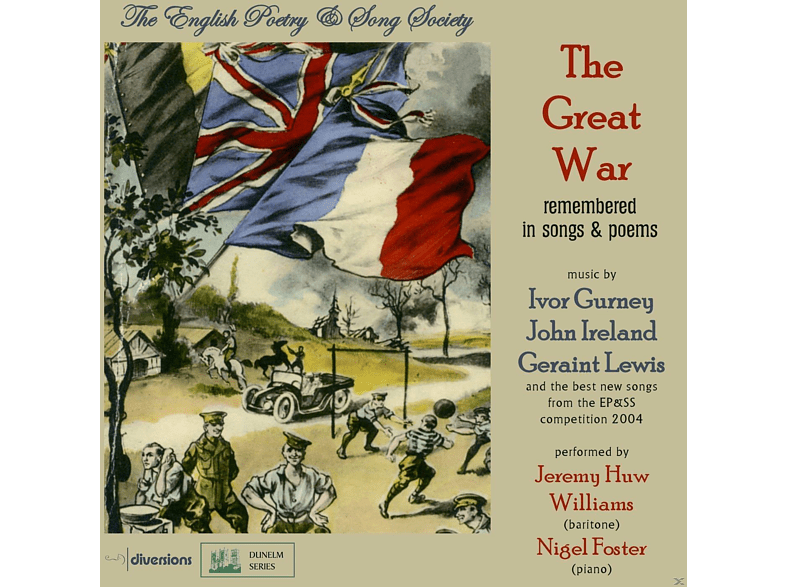 Nigel Foster, Jeremy Huw Williams - The Great War [CD]