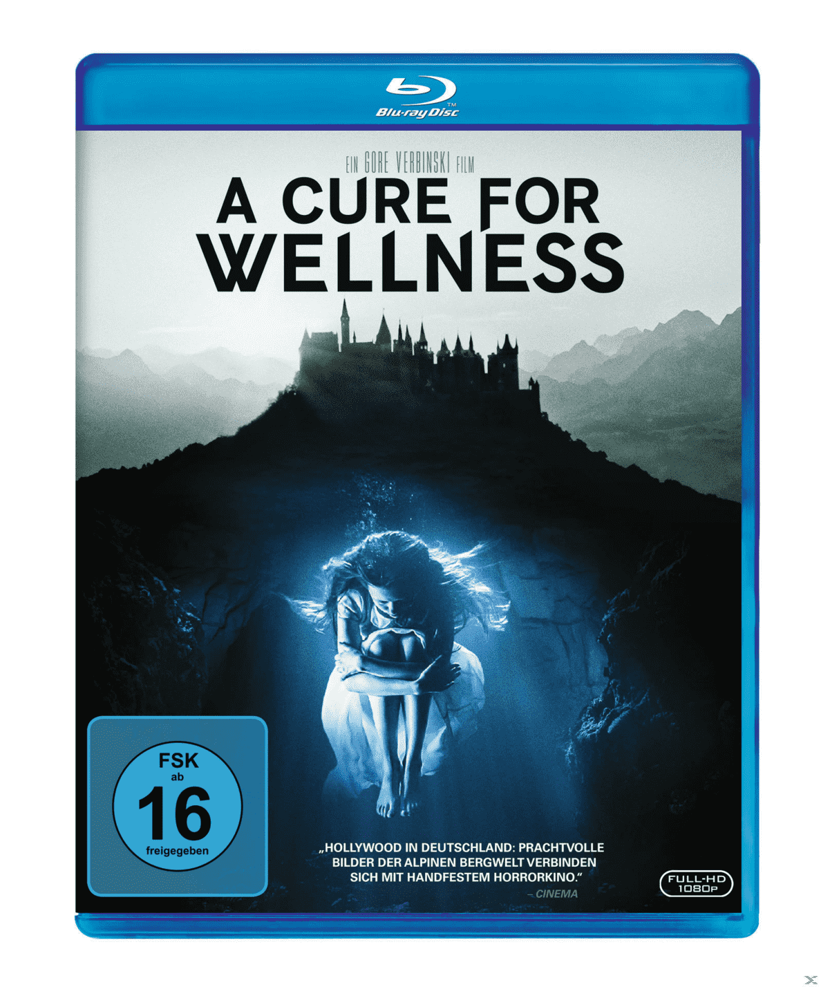A Cure For Wellness auf Blu-ray