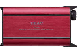 TEAC Amplificateur casque audio portable HA-P50SE-B Rouge (TE09HP50SR50)