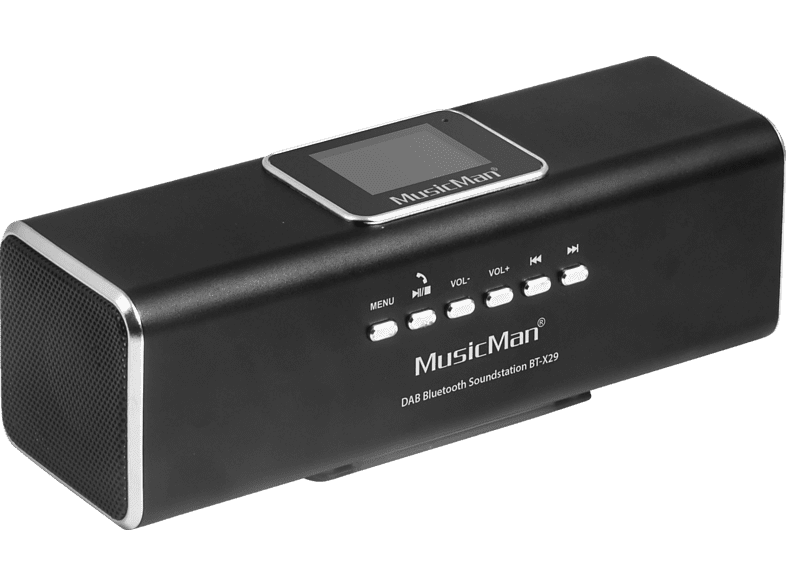 hifi-tests.de TECHNAXX BT-X 29 Musicman Soundstation (32 GB, Schwarz)