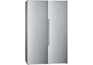 SIEMENS KA99FPI30, Side-by-Side, A++, 1860 mm hoch, 1200 mm breit, Chrom