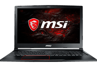 MSI GE63VR 7RF-040DE Raider, Gaming Notebook mit 15.6 Zoll Display, Core™ i7 Prozessor, 16 GB RAM, 256 GB SSD, 1 TB HDD, GeForce® GTX 1070, Schwarz