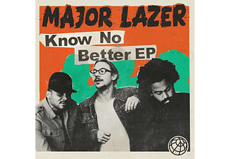 Major Lazer - Know No Better - (CD)