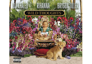 DJ Khaled, Rihanna, Bryson Tiller - Wild Thoughts - (5 Zoll Single CD (2-Track))