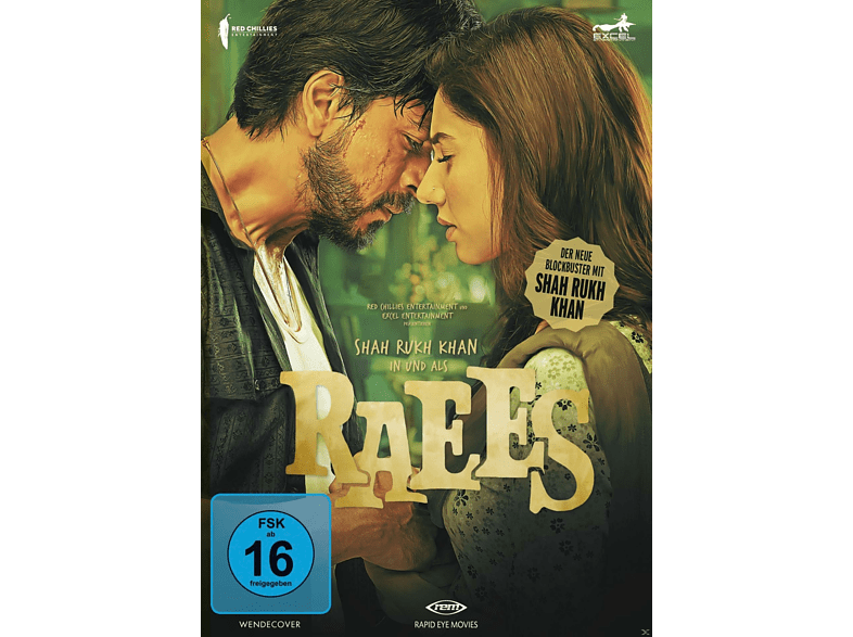 Raees (Vanilla) [DVD]
