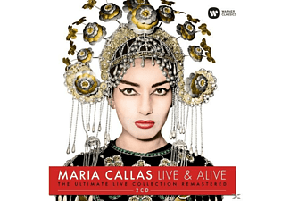Maria Callas, Various Artists - Maria Clallas-Live & Alive - (CD)