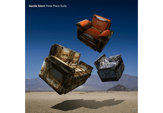 Gentle Giant - Three Piece Suite (Steven Wilson Mix/180g Gatefold - (Vinyl)