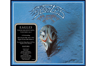 Eagles - Their Greatest Hits Volumes 1 & 2 - (CD)