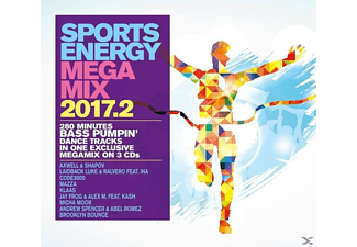 VARIOUS - Sports Energy Megamix 2017.2 - (CD)