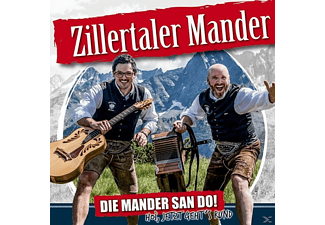 Zillertaler Mander - Die Mander san do! - (CD)