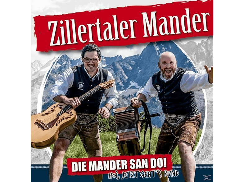 Zillertaler Mander - Die Mander san do! [CD]