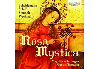 Giuseppe Maletto, Manuel Tomadin - Rosa Mystica-Magnificat For Organ - (CD)