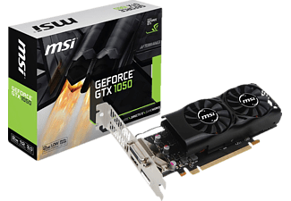 MSI GeForce® GTX 1050 2GT LP (V809-2410R) (NVIDIA, Grafikkarte)