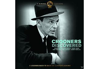 Frank Sinatra, Dean Martin, Tony Bennett, Andy Williams, Bobby Darin, Sammy Davis Jr. - Discovered Crooners - (Vinyl)