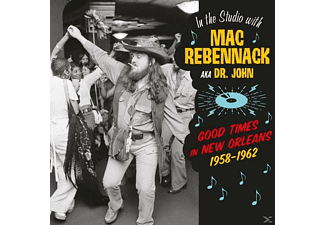 Dr. John - In The Studio With Mac Rebennack (Ltd.180g Vinyl) - (Vinyl)