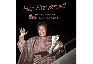 Ella Fitzgerald - The Legendary Rome Concert+6 Bonus Tracks - (CD)