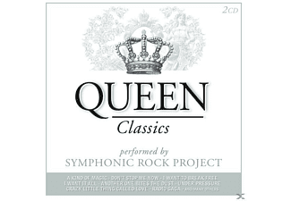 Symphonic Rock Project - Queen Classics - (CD)