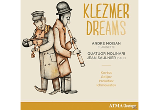 Andre Moisan - Klezmer Dreams - (CD)