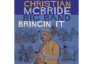 Christian Mcbride Big Band - Bringin' It - (CD)