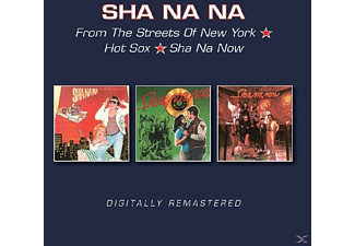 Sha Na Na - From The Streets Of NY/Hot Sox/Sha Na Now - (CD)