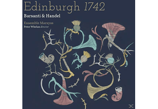 Peter/ensemble Marsyas Whelan - Edinburgh 1742 - (CD)